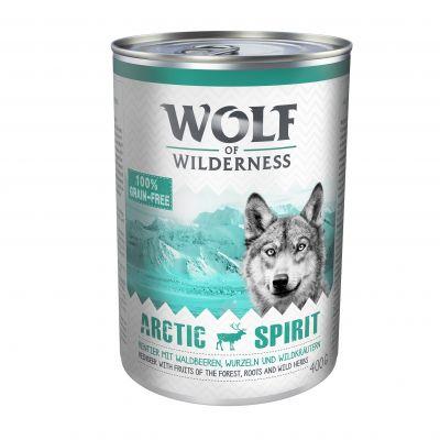 Knaller: Sparpaket Wolf of Wilderness Adult/ Junior 24 x 400 g
