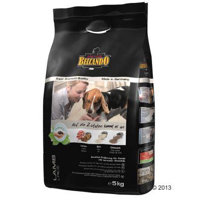 Kombipaket: Belcando 15 kg / 12,5 kg + 6 x 400 g Nassfutter