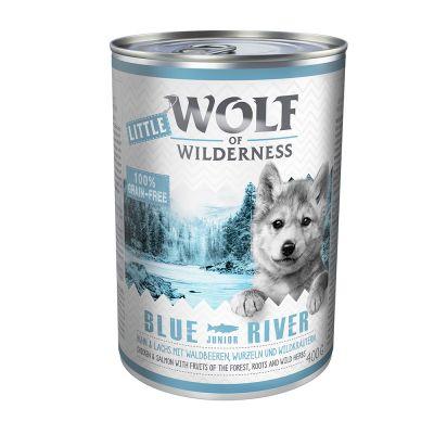 Little Wolf of Wilderness Junior 6 x 400 g