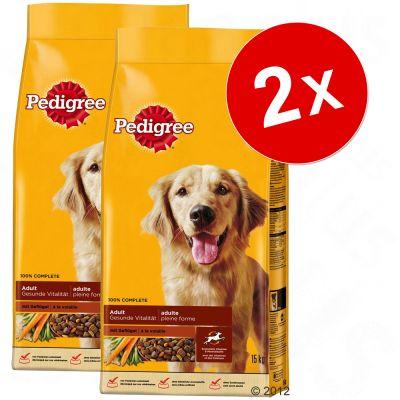 pedigree 2 x 13 15 kg lot de croquettes pour chien zooplus. Black Bedroom Furniture Sets. Home Design Ideas