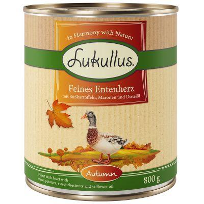 Lukullus Herbst-Menü: Feines Entenherz