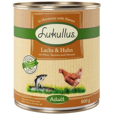 Lukullus Lachs & Huhn