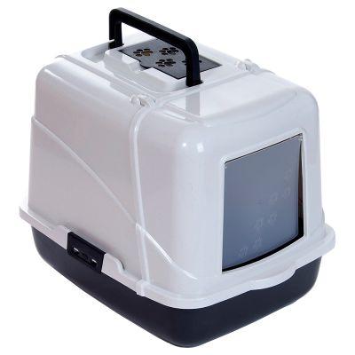 catit cabrio maison de toilette pour chat zooplus. Black Bedroom Furniture Sets. Home Design Ideas