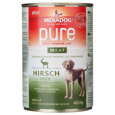 Meradog pure meat Dose 6 x 400 g