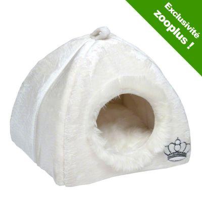 Royal pet white niche pour chat et petit chien zooplus for Niche pour chat interieur