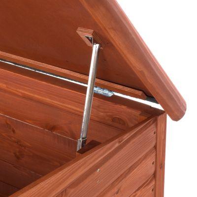 niche pour chien woody prix avantageux chez zooplus niche woody toit plat pour chien. Black Bedroom Furniture Sets. Home Design Ideas