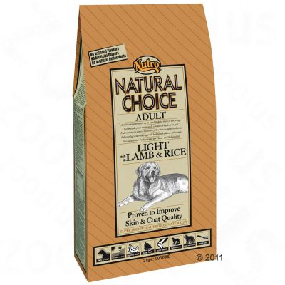 Nutro Natural Choice Adult Light Cordero y arroz