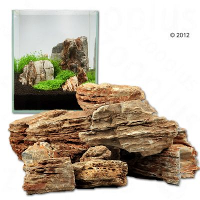 Pierres pagode claires pour aquarium Canyon Rock