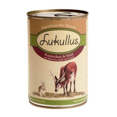 Probeerpakket Lukullus, Terra Canis en Herrmann's elk 2 x 400 g natvoer