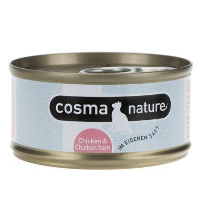 Probierset: Purizon 400 g  & Cosma Nature 6 x 70 g