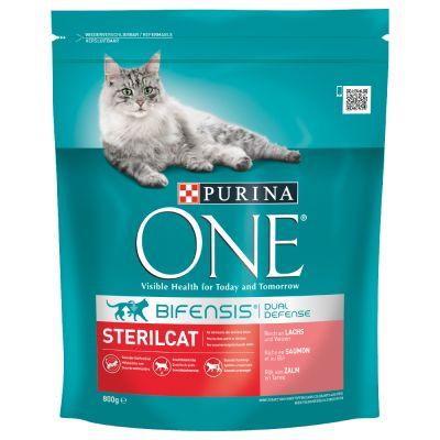 Purina ONE Bifensis Gatos esterilizados - Pack de prueba mixto