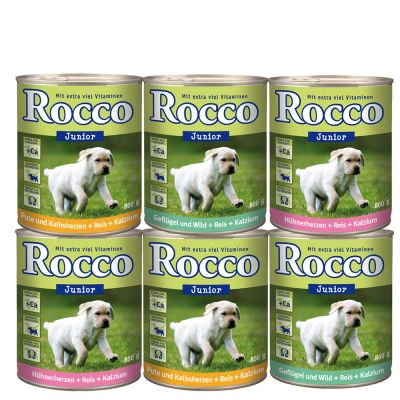 Rocco gemischte Probierpakete 6 x 800 g