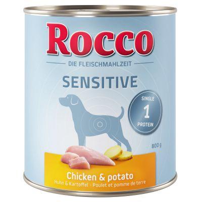Rocco Sensitive 6 x 800 g pour chien