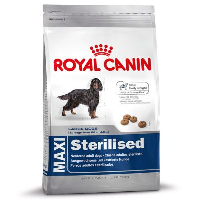 royal canin maxi adult sterilised w sklepie zooplus. Black Bedroom Furniture Sets. Home Design Ideas