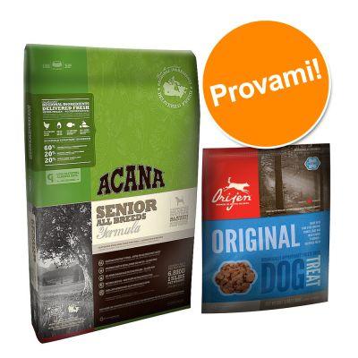 Set Prova! Cibo secco Acana Senior Dog + snack Orijen