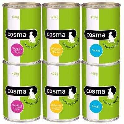 Set prova misto Cosma Original e Thai 12 x 400 g