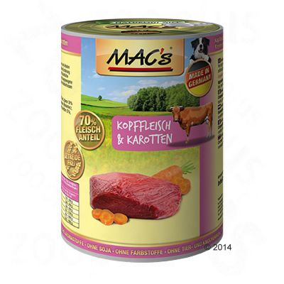 Set prova misto! MAC's Adult  24 x 400 g