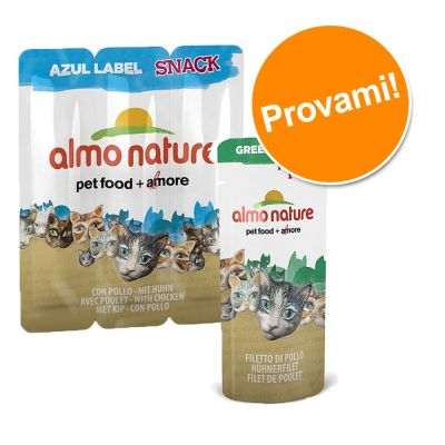 Set prova misto Snack Almo Nature Label