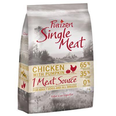 Set prova misto! 3 x 1 kg Purizon Single Meat Adult - senza cereali