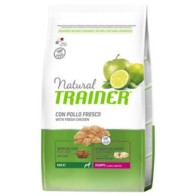 Set risparmio! 2 x 12 kg Trainer Natural Medium & Maxi