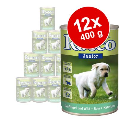 Sparpaket Rocco Junior 12 x 400 g