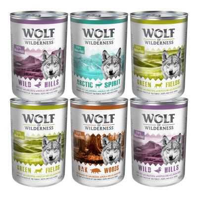 Sparpaket Wolf of Wilderness Adult 12 x 400 g