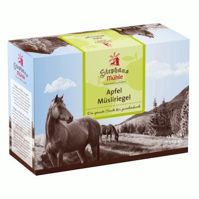 Stephans Mühle Pferde-Müsliriegel Apfel