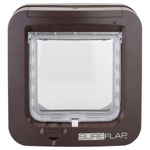 sureflap mikrochip katzent r braun online bei bitiba. Black Bedroom Furniture Sets. Home Design Ideas