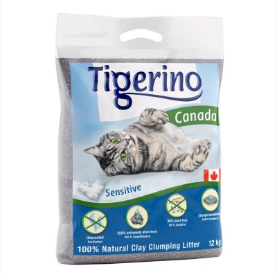 Tigerino Canada Cat Litter – Sensitive