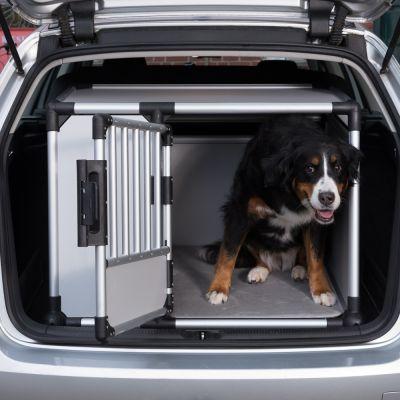 trixie transportbox aluminium small. Black Bedroom Furniture Sets. Home Design Ideas
