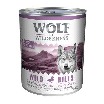 Wolf of Wilderness Hondenvoer 6 x 800 g