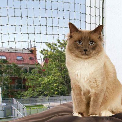 Wzmocniona siatka ochronna dla kota Trixie, oliwkowa