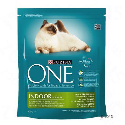 3 x 800 g Purina ONE Trockenfutter im gemischten Paket