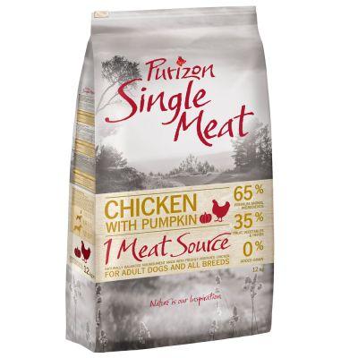 2 x 12 kg Purizon Single Meat Adult